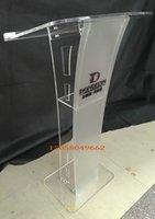 acrylic podiums - Acrylic podium Church of the platform Detachable acrylic podium Church of the platform Crystal acrylic podium Modern design acrylic podium p