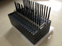 Wholesale GSM GPRS Modem Pool Ports SL6087 USB Interface quad band MHz Wavecom modem