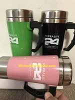 Wholesale Herbalife Nutrition Mixing Cup Mug Drinkware Stainless Steel Coffee Cup Mug Self Stirring Automaticl Mixing Cup