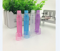 Wholesale hot sale ml PP plastic pen sprayer spray plastic bottle for perfume ml mini PP empty spray plastic bottle