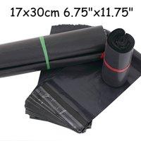 Wholesale cm Black poly mailer bag black mailing bag Mailing Bags Black Poly Postal Packing Mail Post Bag Self Seal