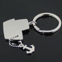 moon chair - Steamship Steamboat Ship Anchor Model Key Chain Ring Keychain Keyfob Keyring chain ring chair