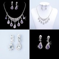 Wholesale New Styles Statement Necklaces Pearl Sets Bridesmaids Jewelry Lady Women s Prom Party Fashion Jewelry Earrings