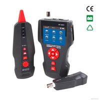 Wholesale Original Noyafa Multi functional Network Cable Tester LCD Cable length Tester Breakpoint Tester English version NF
