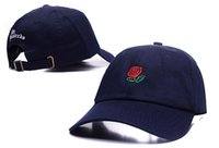 active white roses - Baseball Cap Strapback Hats For Men And Women Gorras Casuette De Marque Bone Masculino Hip Hop Basketball Caps Rose Snapback