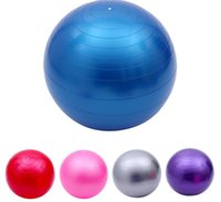 Wholesale Diameter cm fitness ball yoga explosion proof fitness ball yoga ball thickening environmental aspirated pull airlock