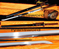 antique hallway - High Quality Carbon Steel Black Saya Japanese Samurai Ninja Sword