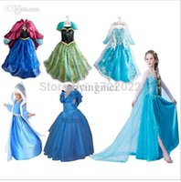 baby delivery gowns - free delivery top grade costume Girl Clothing elsa dress princess dress Long Sleeve Diamond Dresses baby girls dress