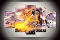 animal steve - steve read dragon lord drakon picture painting wall art children s room decor poster canvas