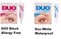 Wholesale Makeup Tools Accessories Eyelash Glue Piece New DUO Eyelash Glue White amp Black Clear Adhesive False Eyelash Glue For Professional Fake