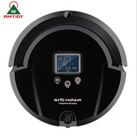 Wholesale Home Appliance In Multifunctional Robot Vacuum Cleaner Auto Recharging LCD Touch Screen Virtual Wall Remote Control Smart Vacuum Cleaner