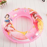 Wholesale 70CM Children Cartoon Swim ring Green Plastic Life buoy Swimming helpers more than Styles foe you KIDS