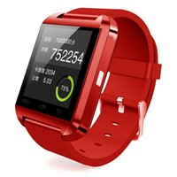 age digital - Hot sale Smart Bluetooth Watch WristWatch sport digital U8 watches for Android Samsung phone Note iPhone high quality Wearable Device
