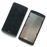 ar display - For LG Leon LS665 H345 H340 n f AR LTE MS345 LCD Display Screen Touch Digitizer Assembly Repair Parts Black