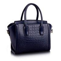 alligator items - Hot Item Colors Wings Bags Luxury Genuine Leather Women Handbag Smiley Bag Brand Designer Tote Messenger Bag
