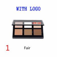 Wholesale 2016 New Branded Cream Concealer Kit Light Medium Fair Makeup Face Powder Foundation Courtour colors