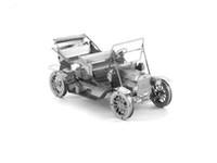 Wholesale bubble car D Laser Cut Building Metal Model Kit Metallic Nano Puzzle Educational DIY Assembling Toy for home decoration