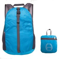 backpack chocolate - 2016 Fashion Backpack Travel Outdoor Sports School Bag Lightweight Foldable Waterproof Nylon Backpack Women Men Children Casual Backpack