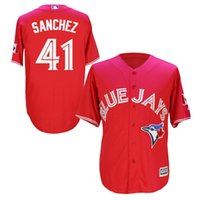 Cheap Rugby Blue Jays Aaron Sanchez baseball jersey Best Men Short Blue Jays Aaron Sanchez 41 MLB jerseys