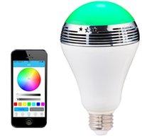 aa globe - Smart Phone AA Control Bulb Speaker Multifunctional Color Changeable LED Ball Bulb Phone APP Control Bluetooth Speaker
