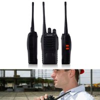 Wholesale New BF S Walkie Talkie UHF MHZ Way Radio CH W Long Range US Plug