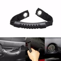 Wholesale 2PCS Car Grab Handle Front Rear Side Motor Rugged Ridge Black for Jeep Wrangler JK