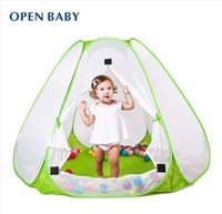 best outdoor games - Best Quality Kids Game House M Indoor And Outdoor Baby Ultralarge Natural Ventilation Ocean Ball Pit Pool Tent For Child