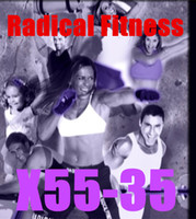 course 35  Email Online Download Radical Fitness X55 - 35 Video DVD Exercise Fitness Videos X55-35 Email free shipping