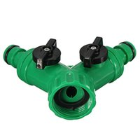 abs hose - New Hot ABS Plastic Hose Pipe Tool Way Connector Way Tap Garden HOSEs PIPEs SPLITTERs