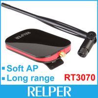 antenna long range - 150Mbps Ralink3070 Chipset High power MW Long Range Wireless N Wifi Network Adapter With High Gain Antennas