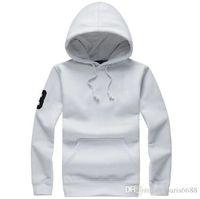 Wholesale 2016 New Fashion Men s Autumn T Shirt Large Size Business long sleeve hooded T Shirt Men pure cotton T shirt