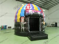 backyard party tents - Hot Selling Crazy Disco Dome Commercial Bouncy Castles Music Party Jumping Tent