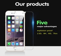 apple bubbles - Bubble Free Anti shatter Anti fingerprint H hardness tempered glass screen protector for iphone S SE S S plus