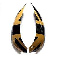 automotive consoles - Center Consoles Decor Sticker ABS Cap Union Jack Automotive For MINI Cooper R60 R61