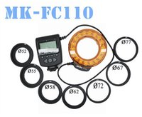 Wholesale MeiKe FC FC110 LED Marco Ring Flash for Canon Nikon Olympus Pentax