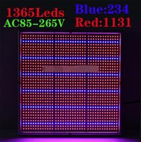 Wholesale New Arrival W Red Blue High Power LED Grow Light for Flowering Plant and Hydroponics System led grow panel AC85 V