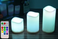 Wholesale Flameless Battery Operated LED Tea Light tealights Home Candles Colorful Good Quality Brand New Hot Sales