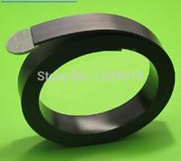 Wholesale 1m roll size rubber magnet mm width mm T rubber magnet strip soft magnet strps