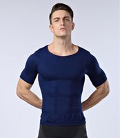 Wholesale Hot Mens Calzoncillos New Underwear Shaper Waist Tummy Hombre Tops Free Belly Vest Slimming Girdle Shirt Men s