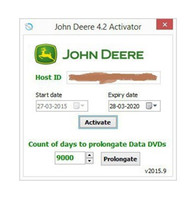agriculture forestry - New John Deere Service Advisor Activator All functions prolongation tool Agriculture Equipment CF Construction and Forestry