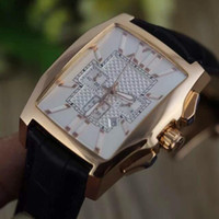 b mechanical watches - New Luxury Brand flying b Limited golden Edition chronograph movement brown leather Mens WristWatch sapphire folding clasp Sport Watches