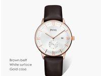 automatic watch manufacturers - Genuine watches men waterproof male watch really belt manufacturers scratch thin Swiss men s watches Hot Calendar