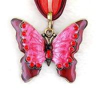 beautiful sweaters for women - Beautiful Rhinestone Butterfly Jewelry Long Necklaces Sweater Necklaces Fashion Necklace For Women Pendants Necklace