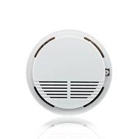 Wholesale home security use V Battery Fire Alarm Independent Cigarette Sensor Smoke Detector