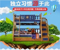 Wholesale 2016 hotsale boy new fashion m m bunk bed in china manufactory factory