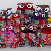 Wholesale Owl Children Package Kids Girls Fashion School Bags