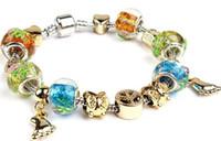 beaded chain chinese - beaded bracelets bracelets bangles charm bracelets fashion Jewelry resist fatigue Glass animal the Chinese zodiac rhinestone bracelet chain