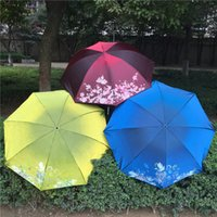 Wholesale Mini Umbrella Sunblock Umbrella Folding Nice Quality Light Weight Sunscreen Vinyl umbrellas for Beautiful aristocratic lady