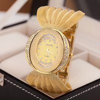 beautiful bracelet designs - wide band watches beautiful ladies yellow bracelet watch wide alloy gold band lady design bracelet watch