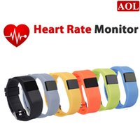 better monitor - DHL free TW64 IP67 Waterproof Smart Bracelet Heart Rate Monitor Wristband Sport Tracker Bluetooth for IOS Android better than Mi Band